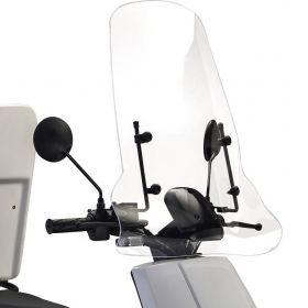 IVA E-GO S3 S4 S5 Windscherm Transparant